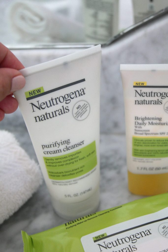 Neutrogena naturals purifying cream cleanser - review