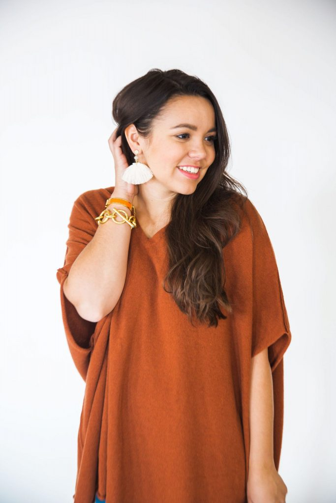 Statement tassel earrings that come in three colors and are under $45!