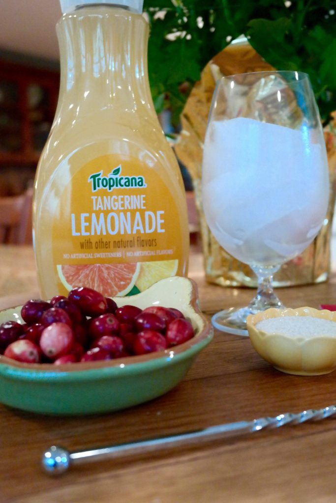 Looking forward to mixing up some fall-ready cocktails with Tropicana Tangerine Lemonade