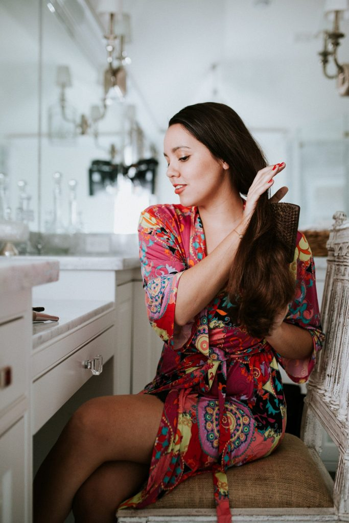 styling tips for long, fine hair