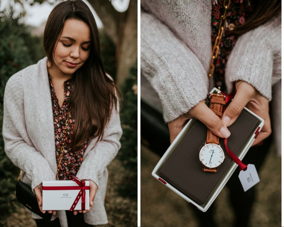 Adored by Alex Christmas giveaways - Day 8, giving away a Daniel Wellington watch!