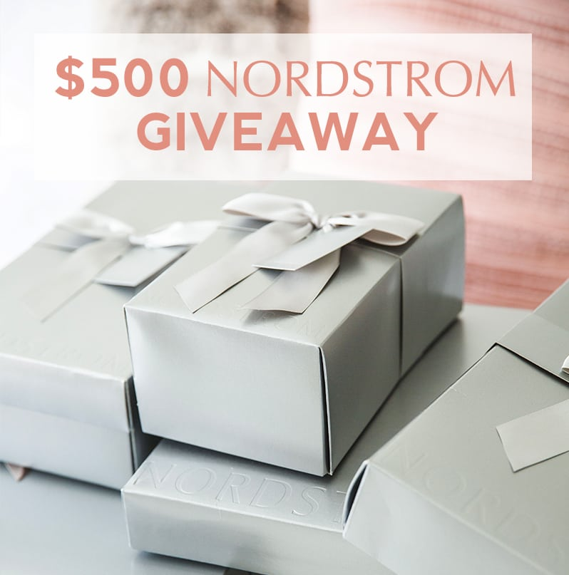 A group of Houston bloggers have teamed up to giveaway a $500 Nordstrom gift card!