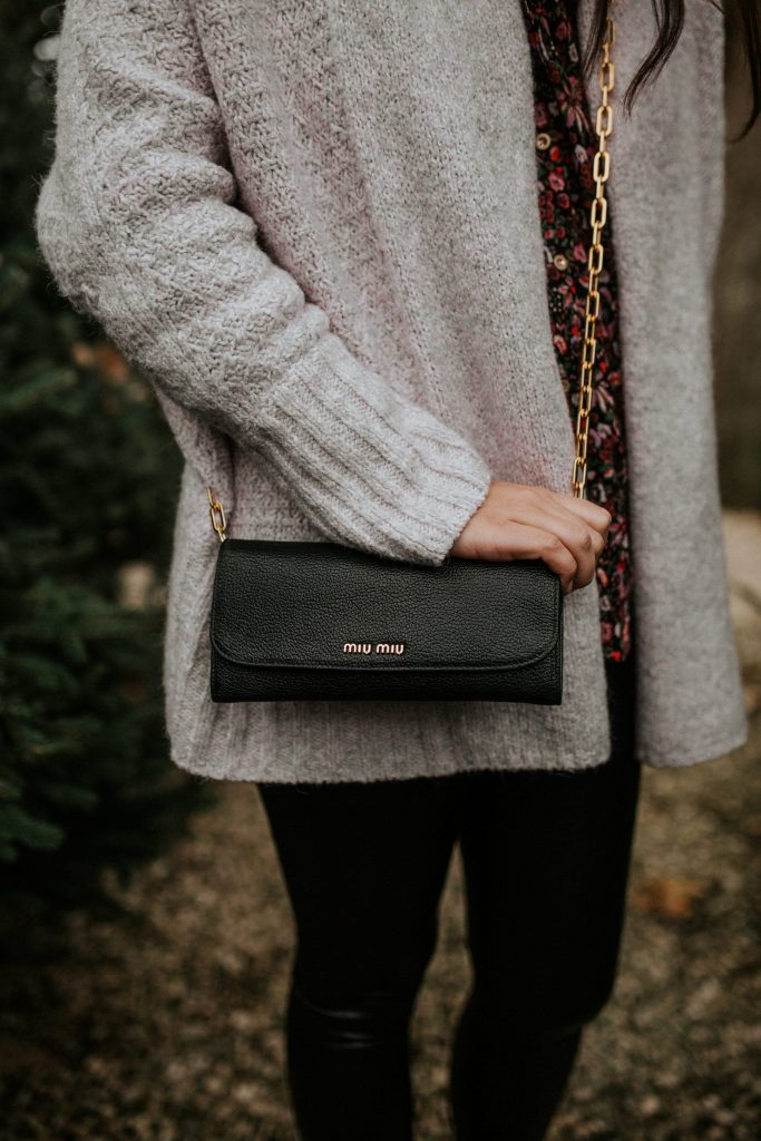 Miu Miu black wallet