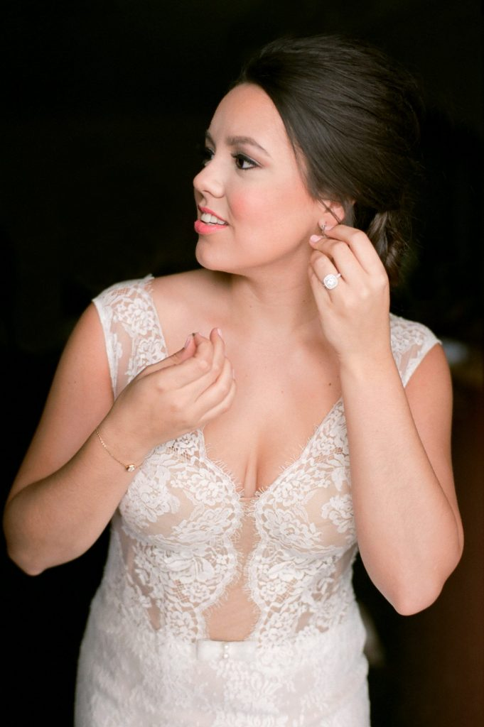 bride and groom wedding photo ideas - getting dressed
