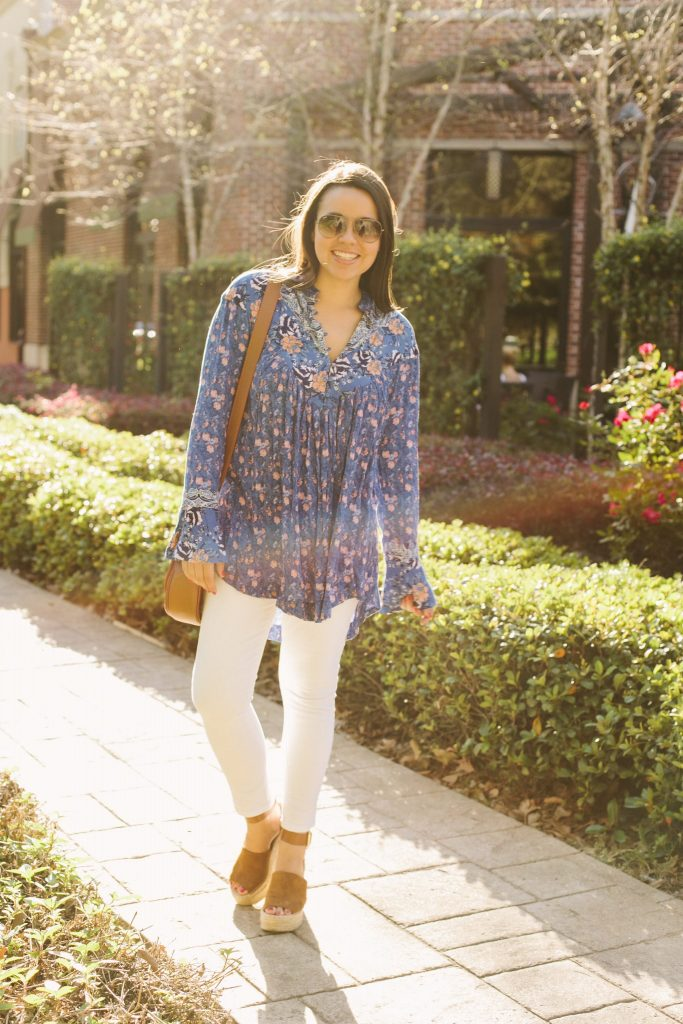 Free People tunic for spring