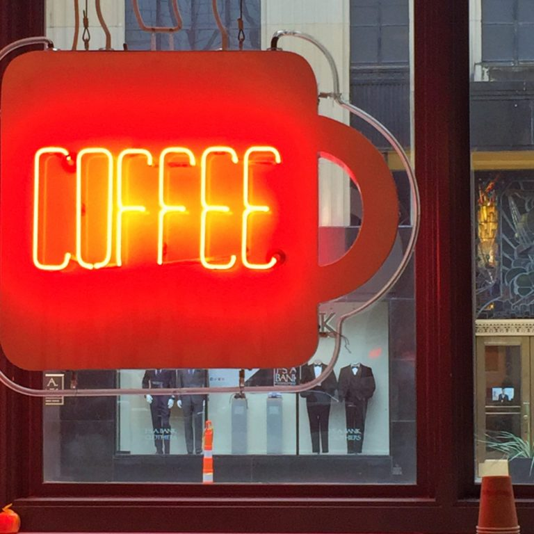 Coffee Talk - Neon Sign