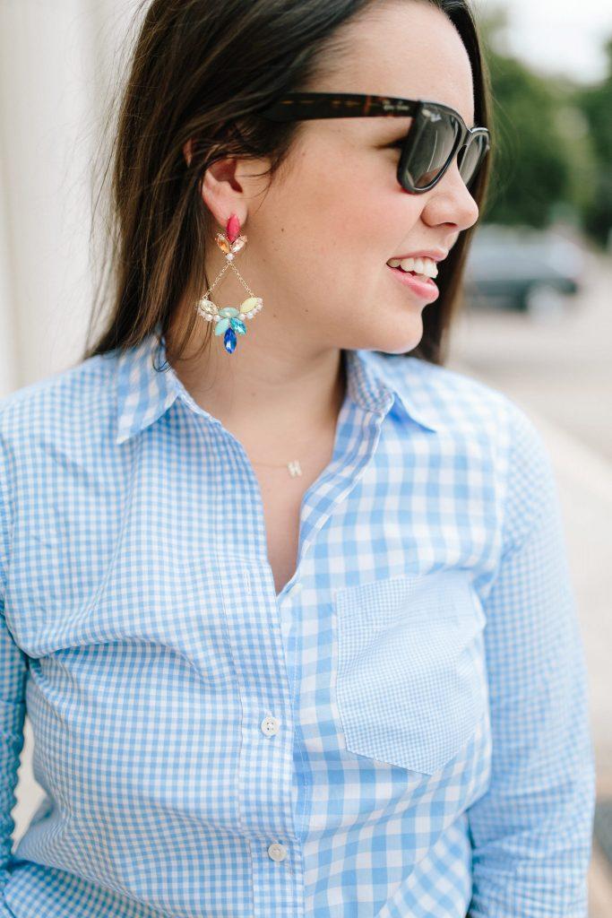 Lulu Frost for Neiman Marcus statement earrings