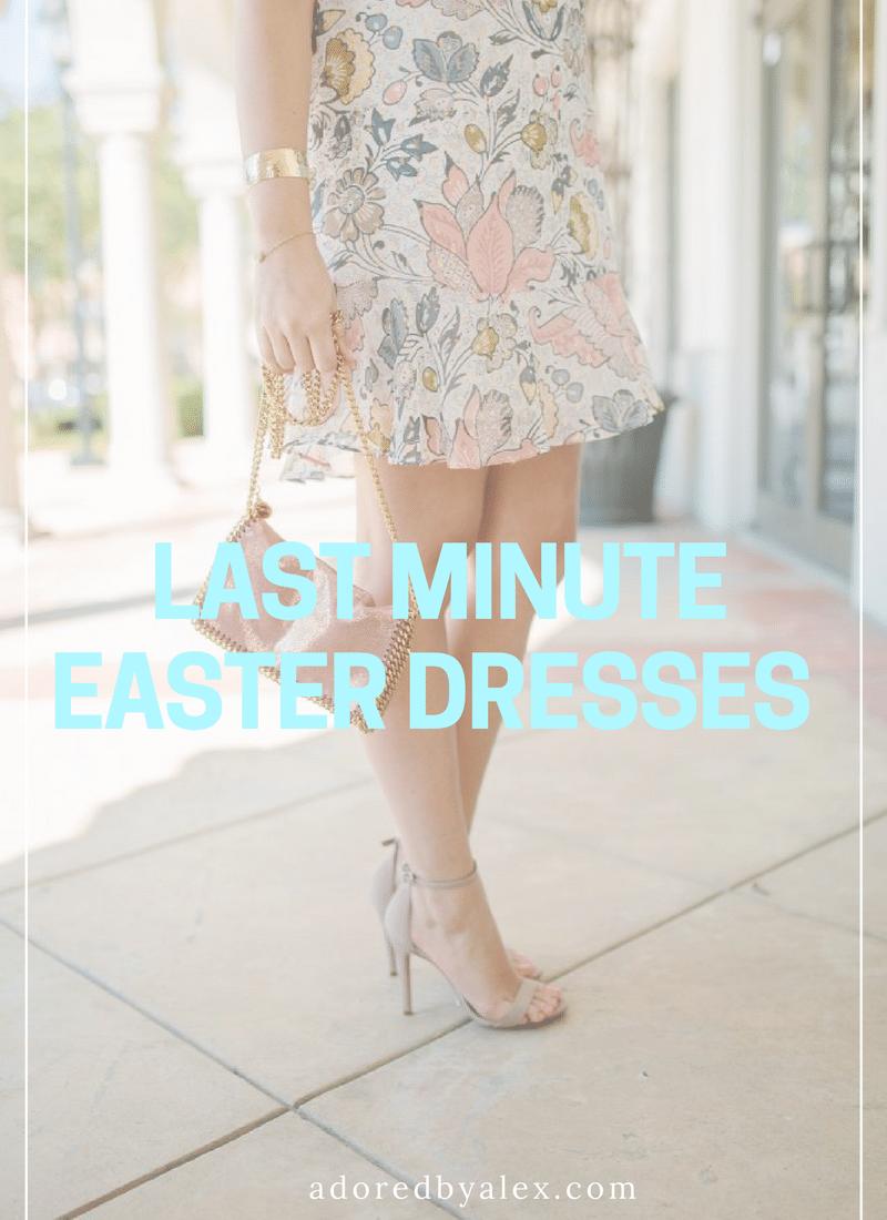 Let's Shop: Last Minute Easter Dresses