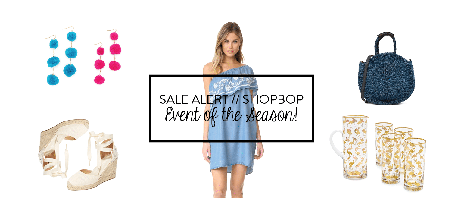 Shopbop Event of the Season spring sale
