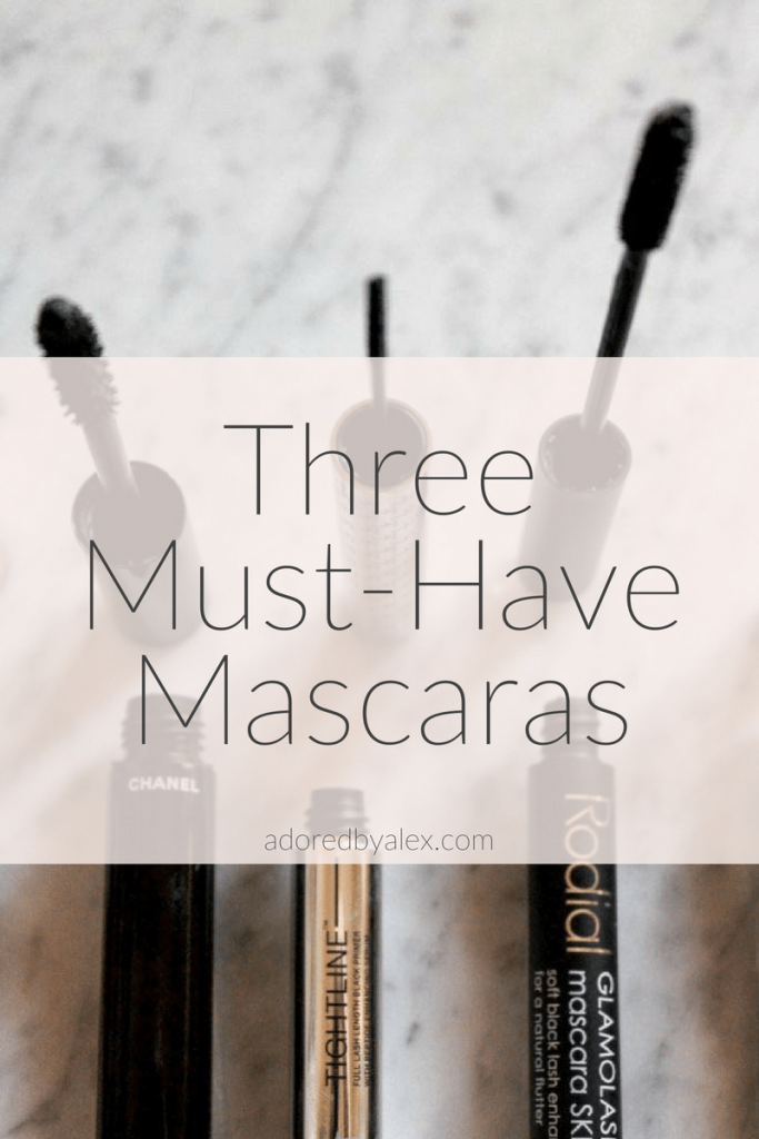 3 must have mascaras | mascaras to try | adored by alex