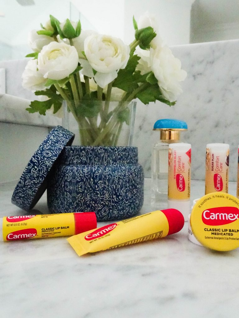 Carmex lip balm | drugstore lip balm favorites