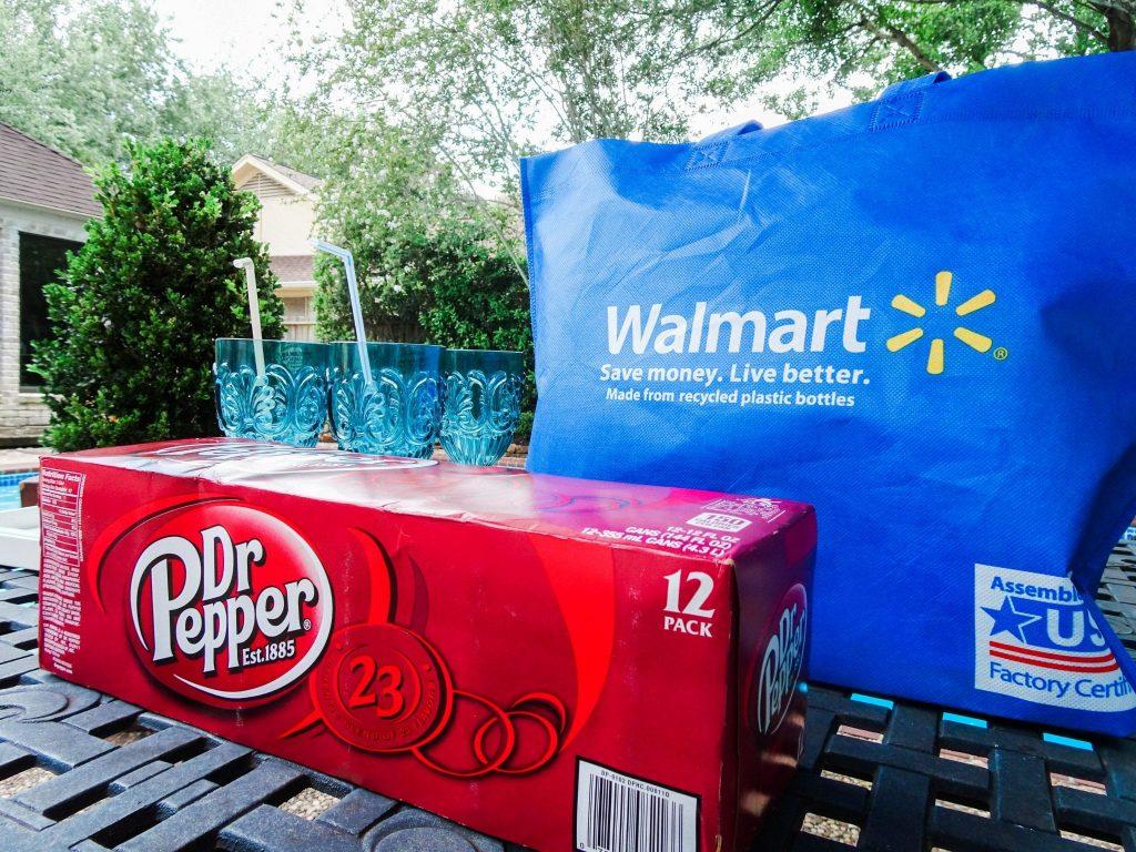 Dr Pepper at Walmart