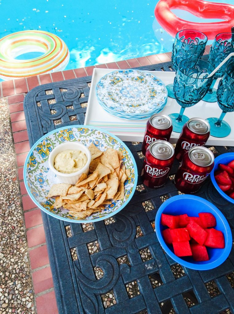 Pool party with Dr Pepper   How to throw a party by the pool