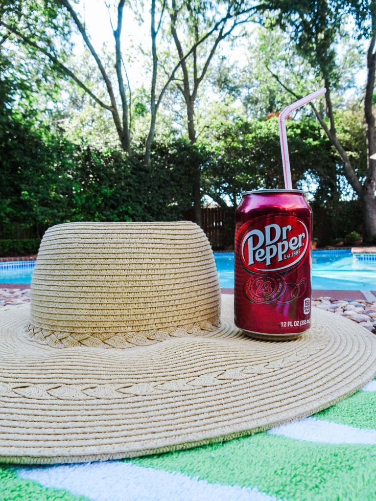 Summer days by the pool with Dr. Pepper