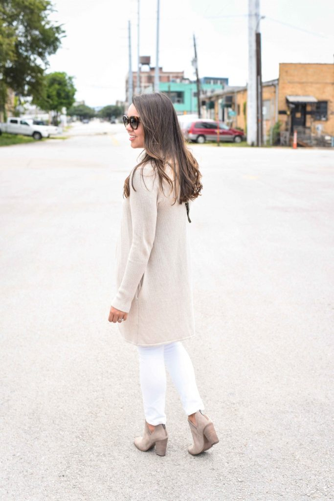 circle cardigan | fall outfit ideas | long cardigan outfits