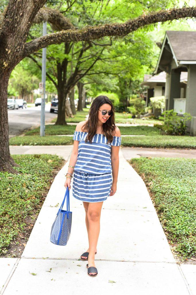 Splendid LA dress   cotton summer dress   easy summer outfits