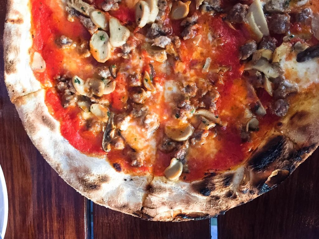 Campo Fina pizza Healdsburg, CA