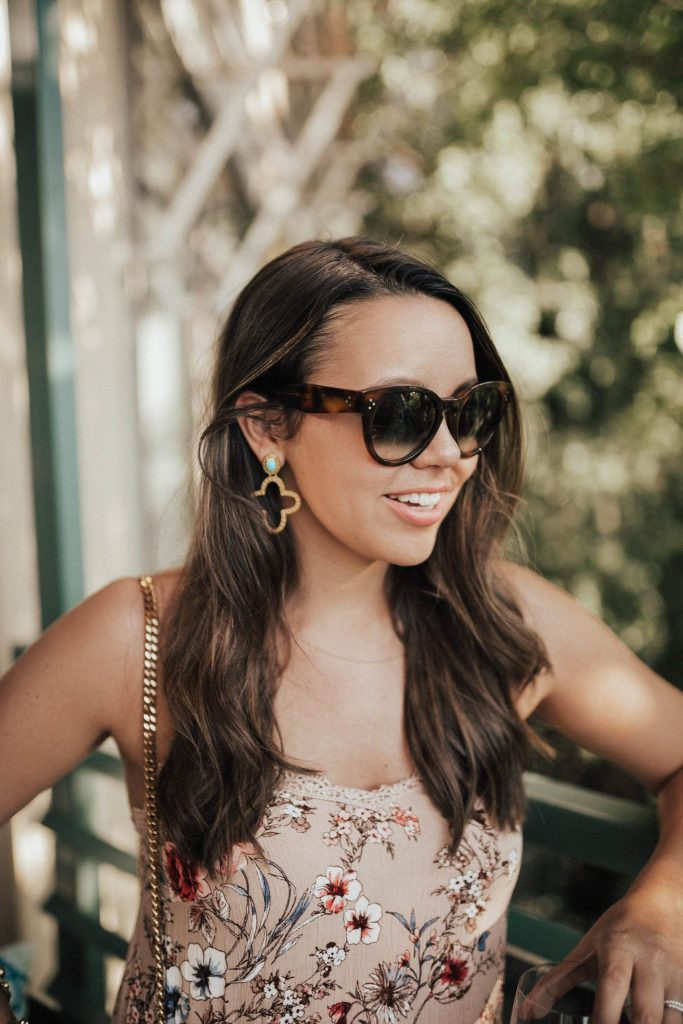 How to wear statement earrings | Summer jewelry