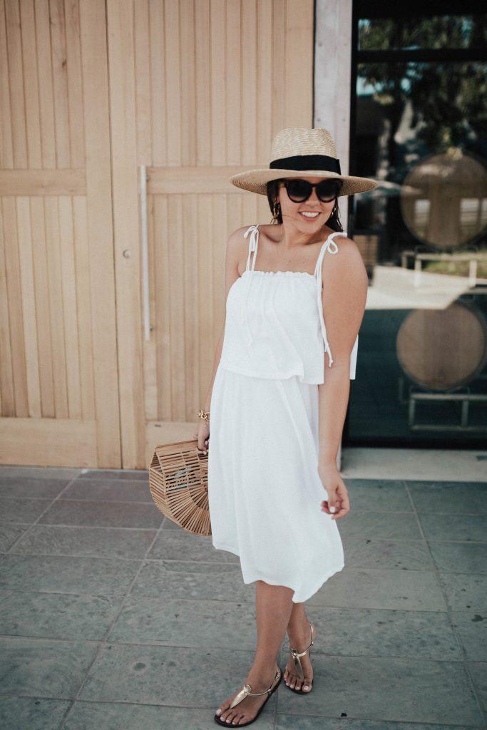 affordable summer white dresses | little white dress