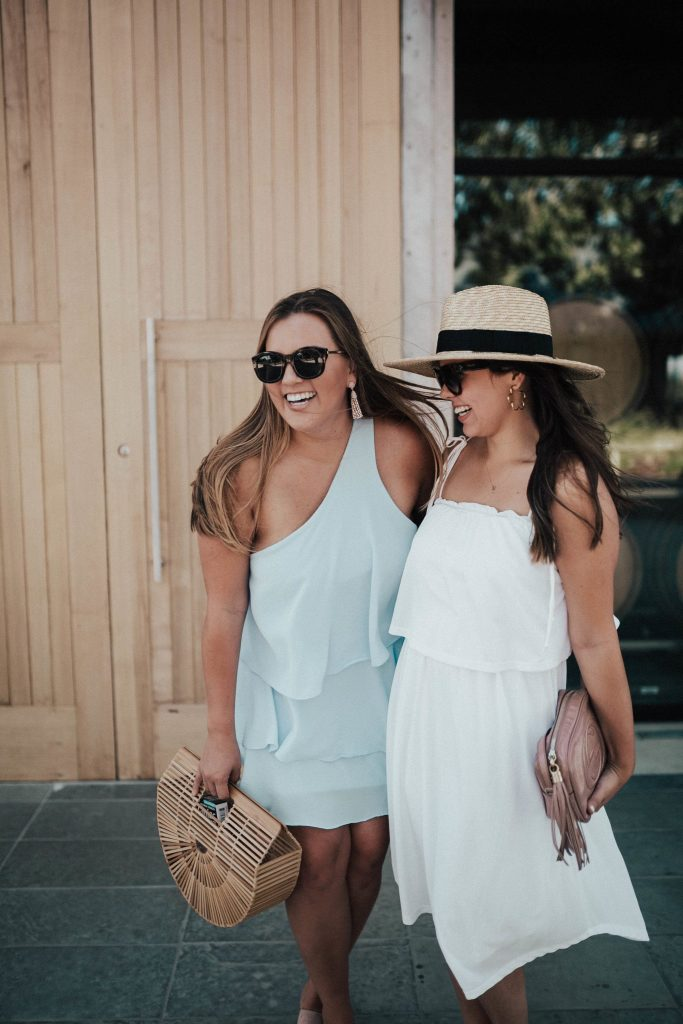 How to style a wide brimmed hat | Affordable summer hats