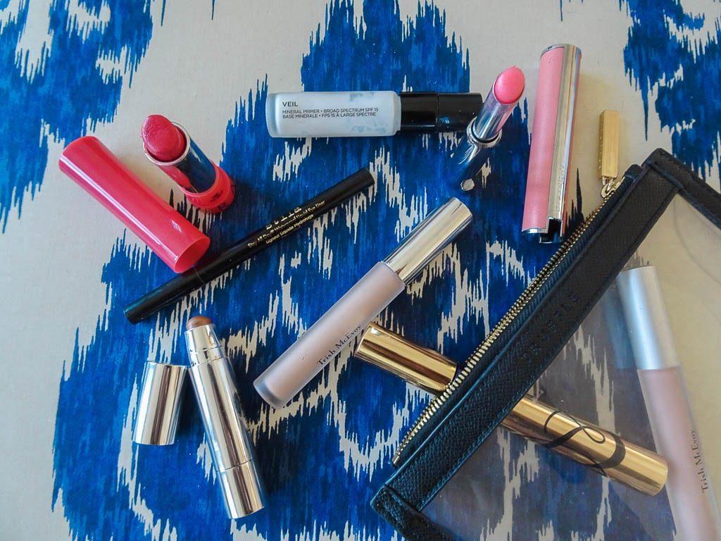 blogger makeup favorites, inside my makeup bag