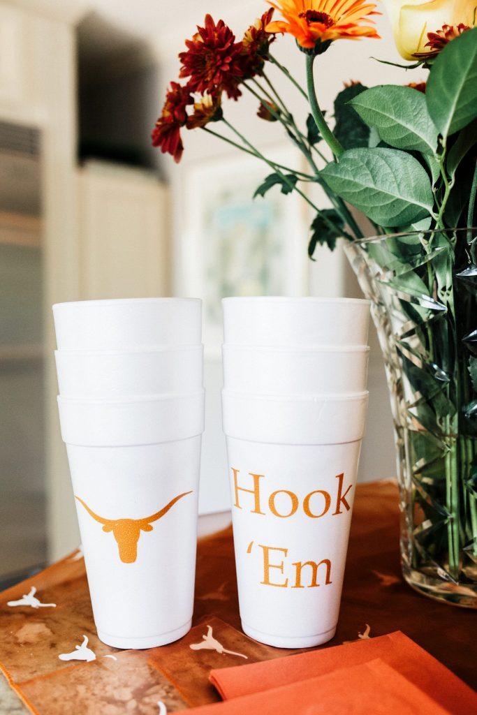 Texas Longhorn tailgate party ideas