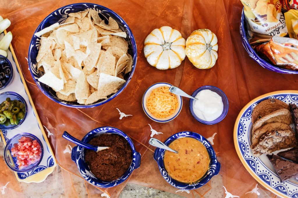 Party ideas, build your own nacho bar