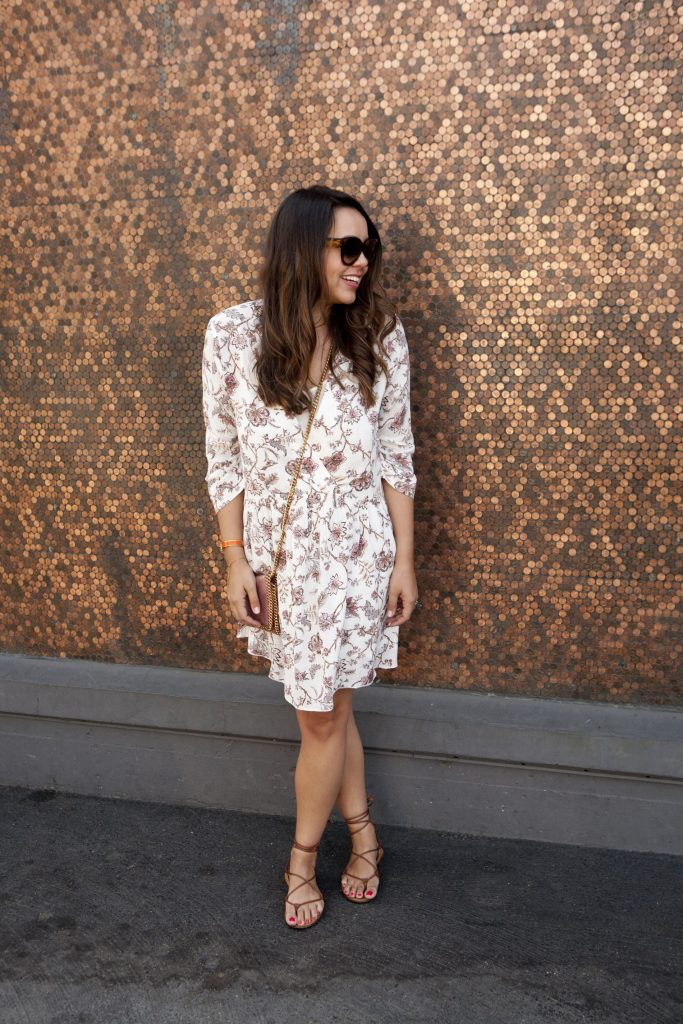 swing baby doll dress for fall - adored by alex