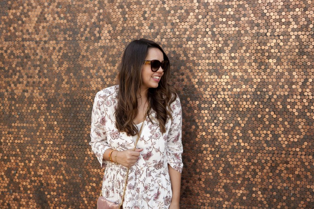 Easy fall transitional outfit, under $100 swing dress