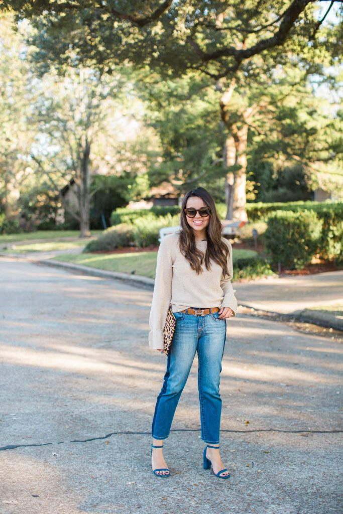 chic Thanksgiving outfit idea, Turkey day comfy outfit