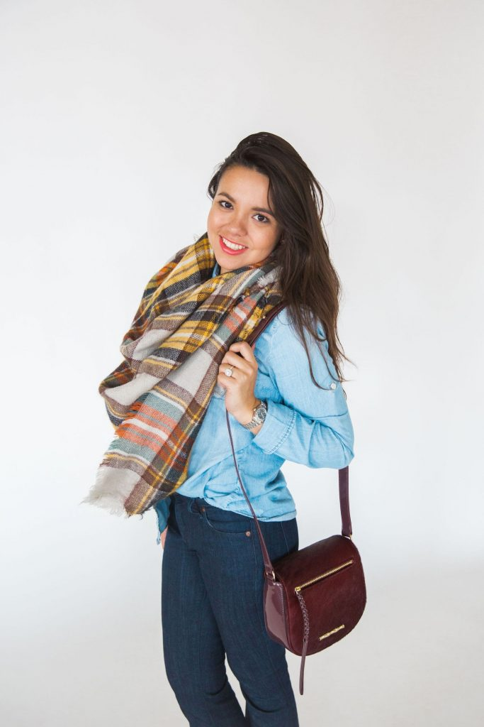 blanket scarf tips, how to tie a blanket scarf