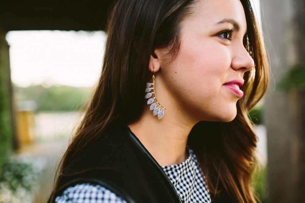 Stella & Dot Asher earrings, on trend earrings