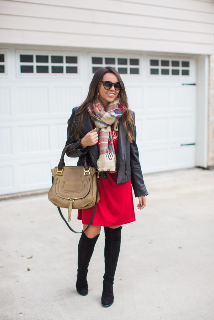 holiday style, blanket scarf outfit ideas