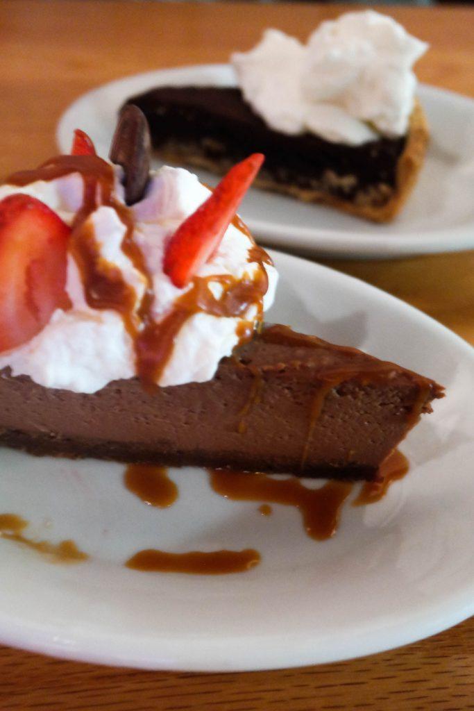 Kitchen Chapel Hill, homemade desserts, Chocolate cheesecake