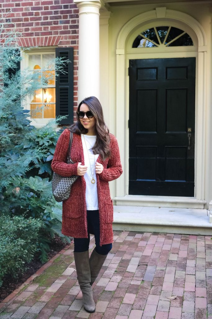 What to wear for fall in North Carolina, Packing for a weekend trip in Chapel Hill