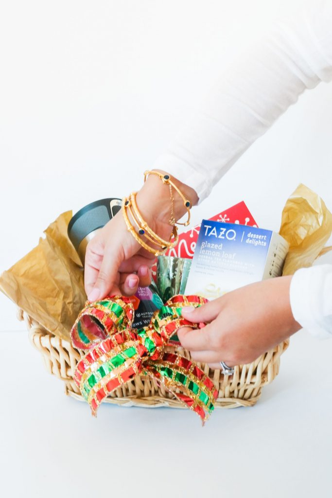 Easy gift basket, holiday present ideas, gifts for teachers