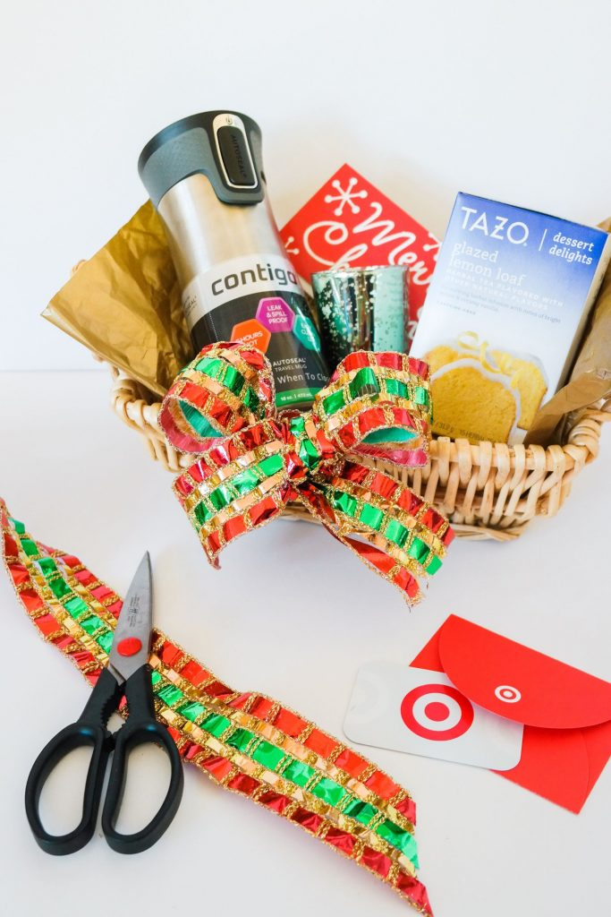 Easy gift basket idea, Christmas gifts at Target