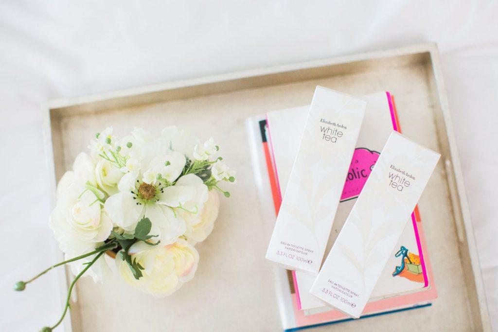 Elizabeth Arden White Tea perfume, Christmas giveaways