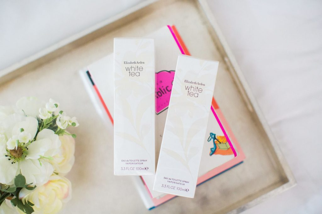 Crisp, clean perfume scents