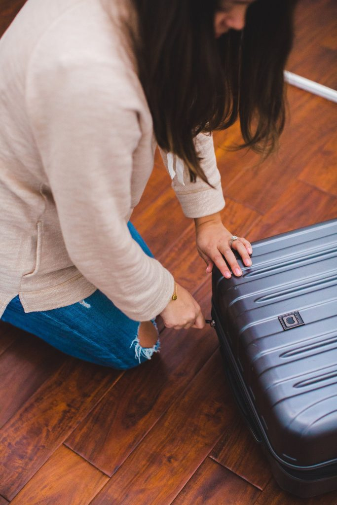 Delsey Titanium luggage, spinner suitcase, best suitcase for overseas travel