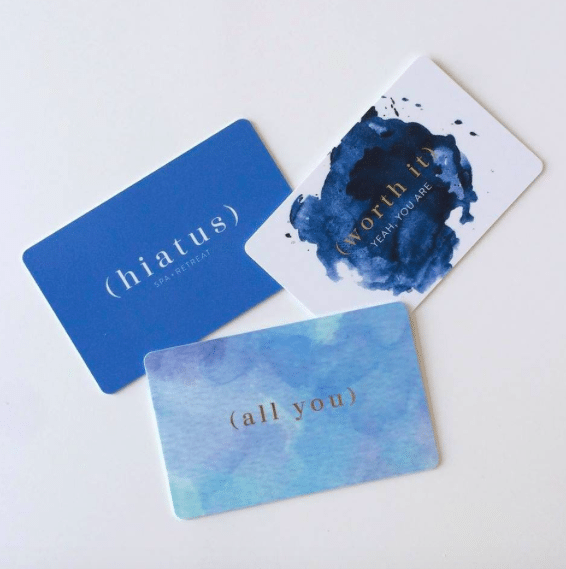 Hiatus spa gift card, Christmas giveaway, Adored by Alex