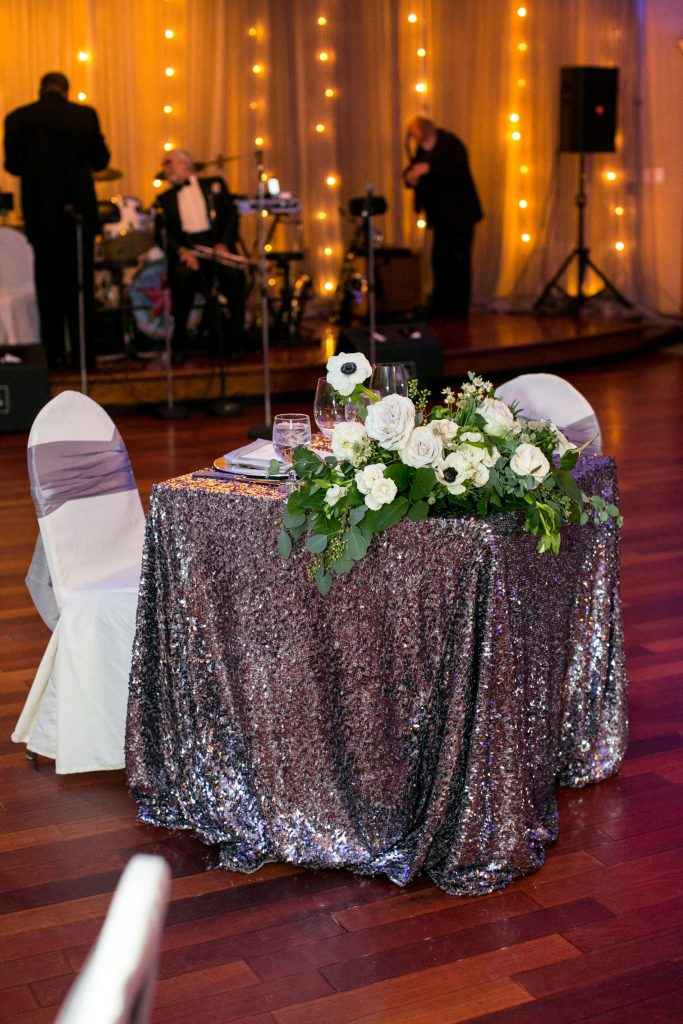 bride and groom sweetheart table, wedding ideas