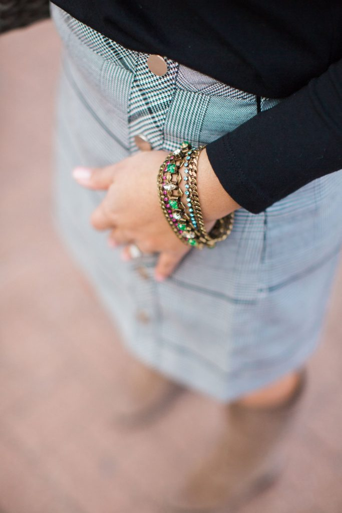 Rebecca Minkoff X Stella & Dot jewelry, statement bracelets, colorful budget-friendly jewelry
