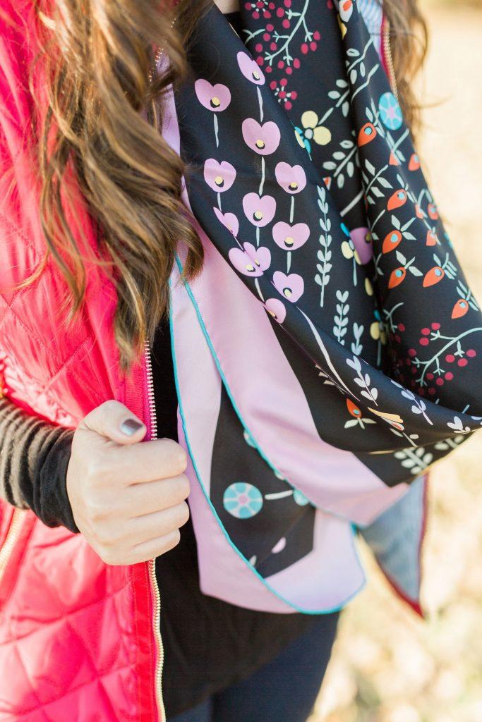 Valentino silk scarf, printed scarves, designer silk scarf