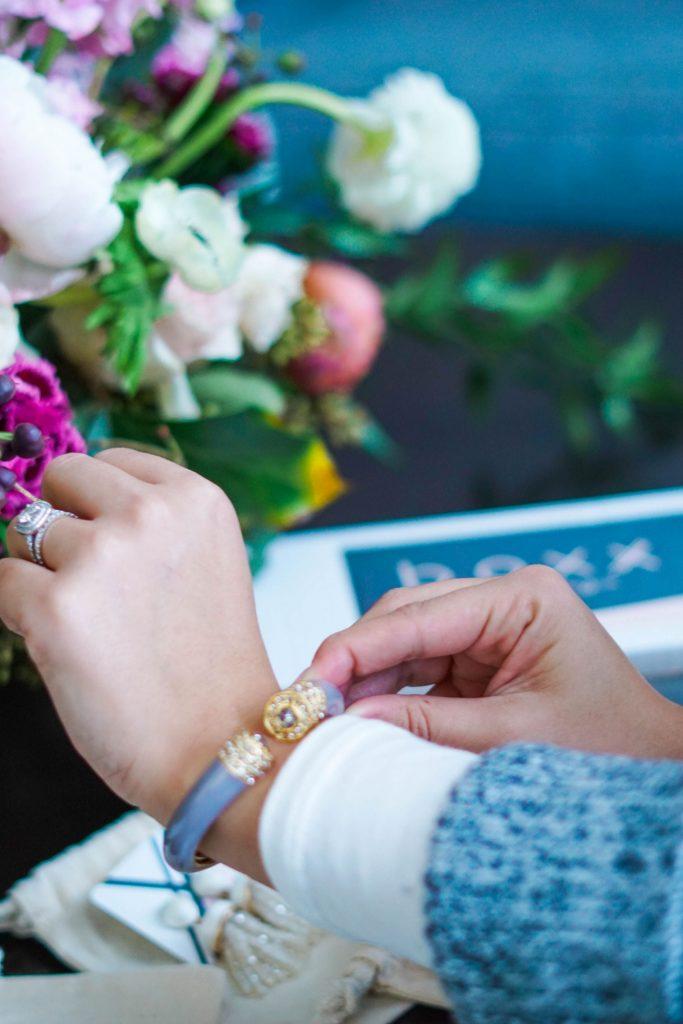 trendy cuff bracelet for spring