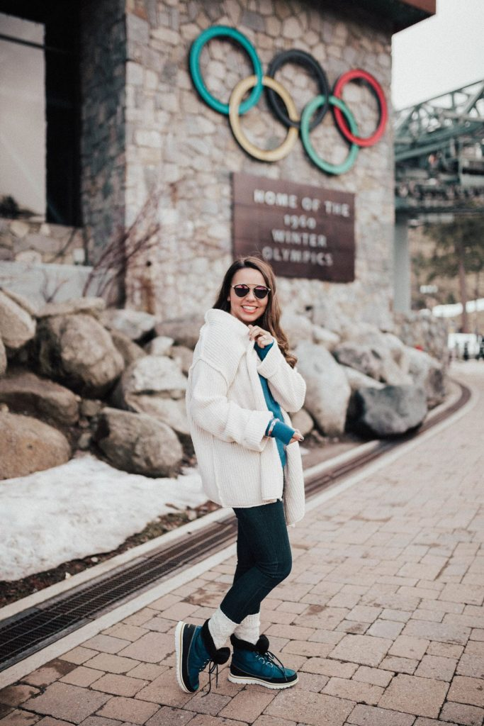 Olympic village, Squaw Valley outfit ideas