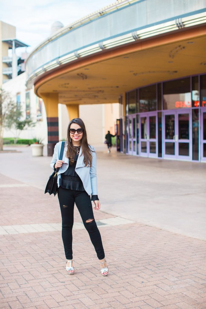 easy outfit ideas, all black outfits