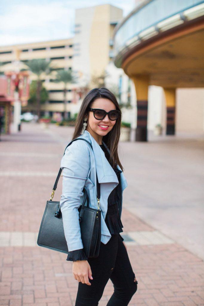 affordable, on-trend black handbags