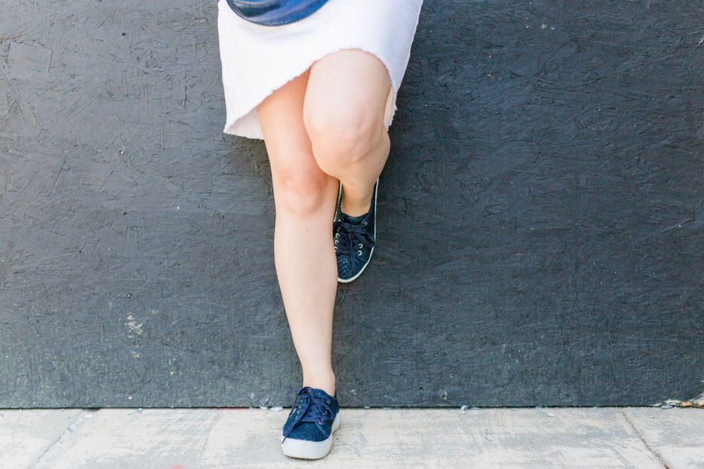 JSlides sneakers, woven platform sneakrs