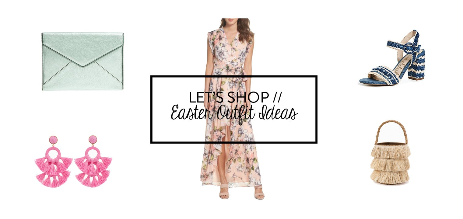 Easter outfit ideas - Adored by Alex 2018
